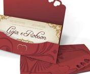 Convite de Casamento - Especial / Modelos de convites de casamento da Linha Especial.