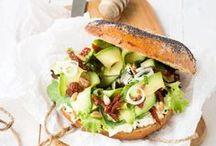 Bagels + Burgers / Inspiration pour des Bagels ou Burgers maison.