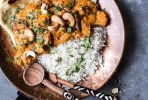 Cuisine Indienne / Insipiration de plats pour une cuisine Indienne.