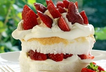 FOOD: Cakes, Pies & Tarts / Cake, Pie, Cobbler & Tart Recipes ~ Sheet cake, bunt cake, cobblers, fruit dumplings, ombre cake, angel food cake, layer cake, and assorted pies and tarts. Every photo links to the recipe :) / by Lilly Calandrello