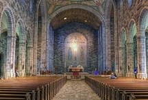 Church, Temples & Cathedral Interiors / Church, Temples & Cathedral Interiors | Interior and architectural photos of churches, monasteries, cathedrals, temples, chapels,  basilicas, abbeys, seminaries, convents, sanctuaries, and mosques.