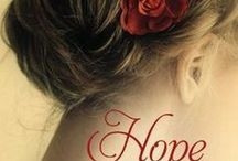 HOPE AT DAWN (Of Love and War, Book 1) / WWI inspirational romance published by Grand Central Forever (June 2014)