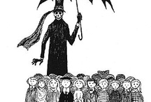Edward Gorey / I'm not sadistic, but he is just so clever! / by Kim Harris