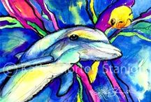 Downloadable Art Prints / kathymortonstanion.com / by Kathy Morton Stanion