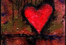 My Heart Art / kathymortonstanion.com / by Kathy Morton Stanion