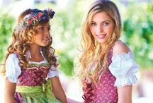 Dirndl & Co. :: German Dirndl / Fesche Dirndl gehören mittlerweile nicht nur in Bayern einfach dazu. Weltweit feiert man gerne ein traditionelles Oktoberfest mit Weissbier und Brezn und natürlich im Dirndl. :: Dirndl are popular around the world as more and more people outside of gemany love having a nice octoberfest with german beer and of cours traditional german dresses - dirndl!  / by Brautmoden Bösckens