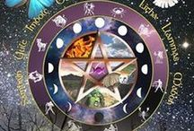 Pentacles & Wheels of the Year / Earth, Air, Fire, Water & Spirit. / by Kim Harris