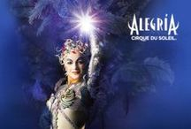 Alegría ~ Cirque du Soleil / Alegria A baroque ode to the energy, grace and power of youth / by Tatiana NS