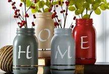 Jars, Glass & Candle Holders, OH MY / by Laura Palka