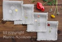 Linens and Things / Pillowcases, Napkins, Kitchen Towels, Throws, Fabric and Other Things / by Laura Palka