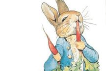 Miss Potter's Friends / The wonderful & whimsical illustrations of Beatrix Potter! / by Kim Harris
