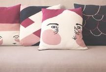 Lupa Collection / Lupa homewear collection, designed by illustrator Maria Hleena, handmade in Porto, Portugal. info + e-store: www.lupalupa.pt
