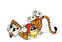 Calvin and Hobbes / Comic Strip by Bill Watterson / by Kim Harris