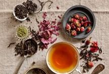 tea paraphernalia / or coffee, whichever you prefer.