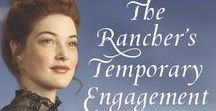THE RANCHER'S TEMPORARY ENGAGEMENT / Harlequin Love Inspired Historical (February 2018)