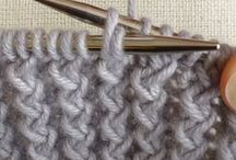 +crafts | knitting | ribbing