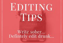 Editing Tips (Advice)