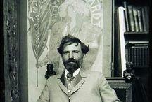 alphonse mucha / Mucha, Jugendstil , Art nouveau
