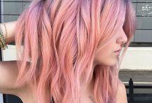 Colorful hair/ Цветные волосы