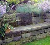 Zahrady - kámen
