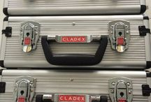Cladex Max Marketing Tools   www.cladex-max.com / Cladex Suitcase, Catalogues, Metallic Chain Samples