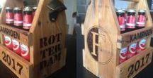om te maken / Wandbord van steigerhout. Makkelijk en snel gemaakt maar leuk in de kamer