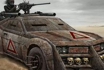 Wasteland Vehicles / Style, Post-Apocalyptic