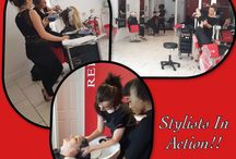 Stylists in Action