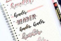 calligrafia/headers
