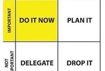 Time management, productivity