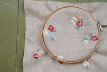 CRAFTS: embroidered