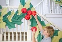 Christmas / Santa Claus is coming to town. Crafts and DIY inspiration to get you decorating for the holidays!