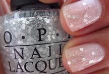 Mani'sPedi's / nude, sparkles, pretty.... / by Karrie ღ Miller ❁
