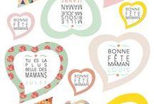 Fête des mères / Idées cadeaux déco pour la fête des mères