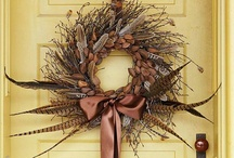 Wreaths / ~Wreaths are an assortment of flowers, leaves, fruits, twigs or various materials that are constructed to resemble a ring. Wreaths are typically used as household ornaments. Hope you enjoy my pins...they are truly beautiful!~  / by Robin Adams