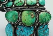 Turquoise / ~Turquoise is the symbol of friendship. If given to a loving friend, that stone would protect the wearer from negative energy and bring good fortune. In healing it can help to calm hyperactive people.~ / by Robin Adams