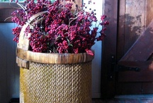 Baskets Galore / ~A tisket a tasket everyone needs a basket or two or three. Baskets can be used for almost anything....planting, storing, decorating or whatever you chose to do with it. Hope you enjoy my pins!!~ / by Robin Adams