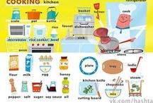ESL - Food Lesson & Vocabulary