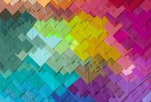 Brand Colors, Shapes and Textures - Lift Your Business / Ideas