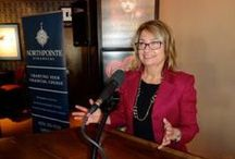 """Feb. 3 """"Annual Gentleman's Lunch"""" / High-powered networking at our Gentleman's lunch  http://westvalleywomen.org/invitation/"""