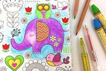 Coloring Book Fun! / Products for All Your Coloring Needs.