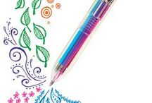 Pens / Write, Draw, Doodle and Create a World of Color.