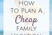 Inexpensive Travel / Money saving ideas for inexpensive travel.  How to travel on a budget.