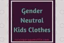 Gender Neutral Kids Clothes / Are you looking for great gender neutral kids clothes? Do you struggle to find bright gender neutral kids clothes? If the answer is yes then this is the board for you