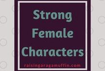 Strong Female Characters / Strong Female Characters | Female Characters