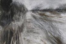 Art - Baldwin Janine / Contemporary artist, landscapes, b. 1979, GB
