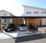 iG ガレージ・カーポート / 【アイジースタイルハウス】の施工事例より