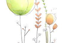 Aquarelles / Watercolors
