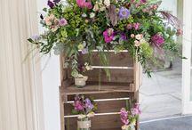 #WeddInspo Flowers in an English Country Garden