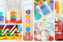 Rainbow Birthday Party Ideas / by Kara's Party Ideas .com